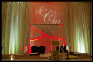 Reception Decor by Millinum Productions