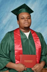 Michael Brown High School Graduation Photo
