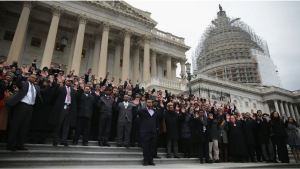 Black Congressional staffers walkout
