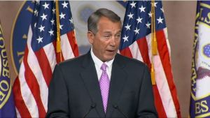 Boehner on Michael Brown and Eric Garner cases