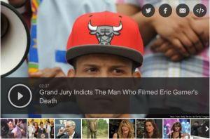 Eric Garner's camera man indicted