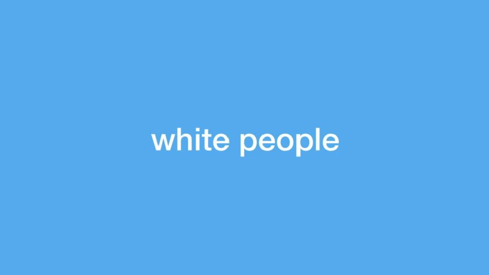 MTV's White people