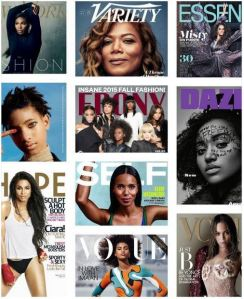Black Women on Magazine