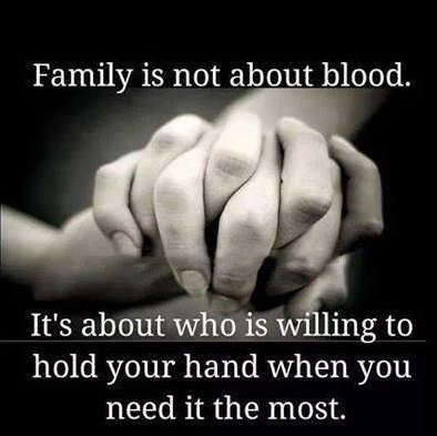 family not blood quote